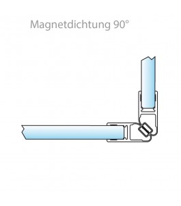 Magnetdichtung 90°