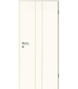 Designtür Weißlack 2501 (RAL9010)