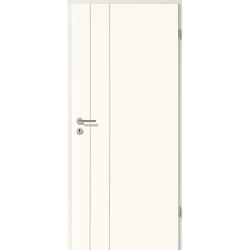 Holztüren - Designtür Weißlack 2502 (RAL9010)