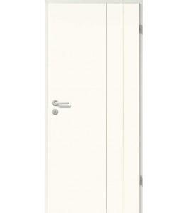 Holztüren - Designtür Weißlack 2503 (RAL9010)