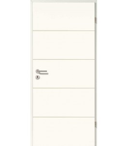 Holztüren - Designtür Weißlack 2505 (RAL9010)