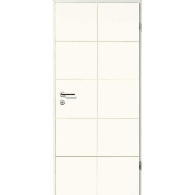 Holztüren - Designtür Weißlack 2507 (RAL9010)