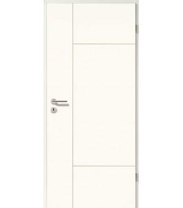 Holztüren - Designtür Weißlack 2509 (RAL9010)
