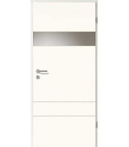 Holztüren - Designtür Weißlack 2504 (RAL9010) mit LA