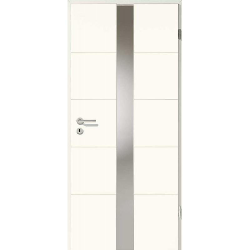 Holztüren - Designtür Weißlack 2505 (RAL9010) mit LA