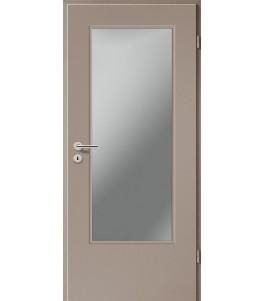 Holztüren - Türblatt CPL - Macchiato mit Lichtausschnitt