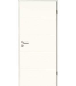 Designtür Lackweiß 5505 (RAL9010)
