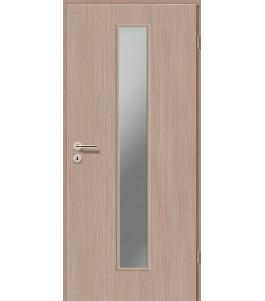 Holztüren - Türblatt CPL - Samtulme mit Lichtausschnitt LA-1
