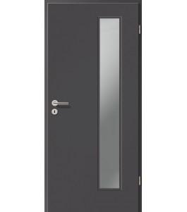 Holztüren - Türblatt CPL - Achat mit Lichtausschnitt LA-1B