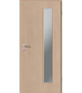 Holztüren - Türblatt CPL - Pinie Hell mit Lichtausschnitt LA-1B
