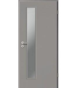 Holztüren - Türblatt CPL - Kitt mit Lichtausschnitt LA-1D