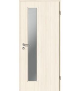 Holztüren - Türblatt CPL - Coco Bolo Weiß mit Lichtausschnitt