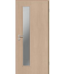 Holztüren - Türblatt CPL - Pinie Hell mit Lichtausschnitt LA-1D