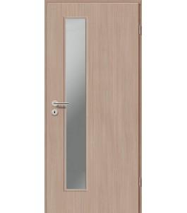 Holztüren - Türblatt CPL - Samtulme mit Lichtausschnitt LA-1D