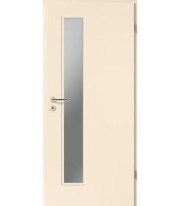 Holztüren - Türblatt CPL - Sand mit Lichtausschnitt LA-1D