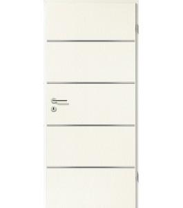 Lisenen-Türen - Esche Weiß