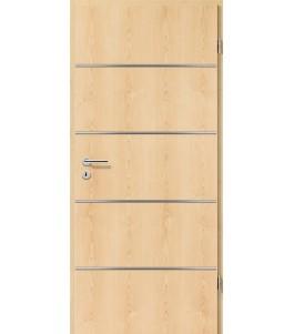 Lisenen-Türen - Ahorn Natur-3505