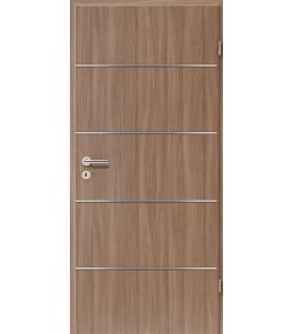 Lisenen-Türen - Nussbaum