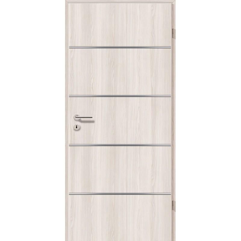 Lisenen-Türen - Lärche Weiß