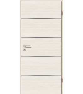 Lisenen-Türen - Pinie Weiß Cross