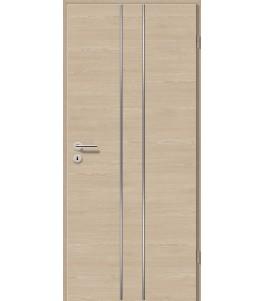 Lisenen-Türen - Bernsteineiche Cross-3501