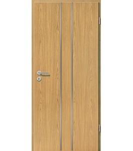 Lisenen-Türen - Eiche Hell-3501