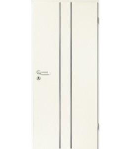 Lisenen-Türen - Esche Weiß-3501