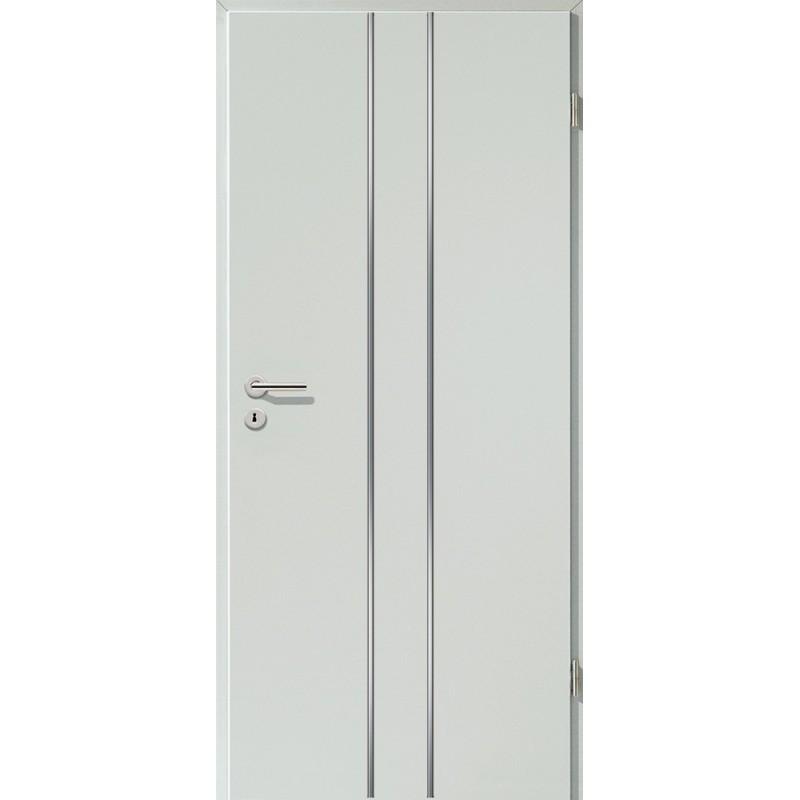 Lisenen-Türen - Hellgrau-3501