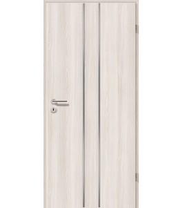 Lisenen-Türen - Lärche Weiß-3501