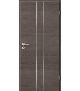 Lisenen-Türen - Pinie Grau Cross-3501