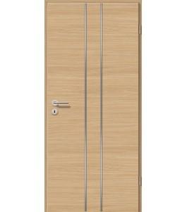 Lisenen-Türen - Schwarzeiche Cross-3501