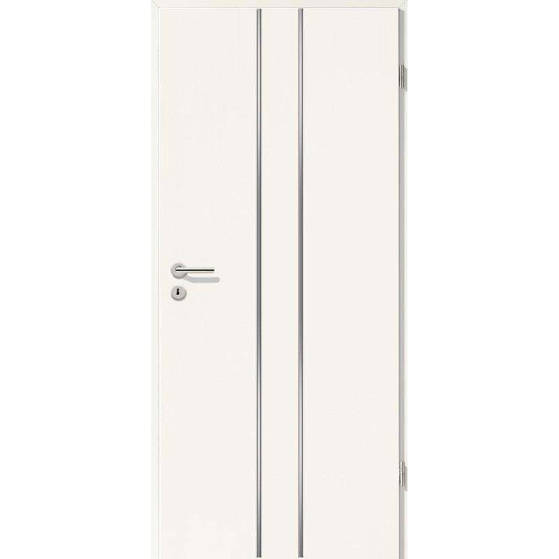 Lisenen-Türen - Uni Weiß-3501