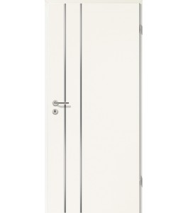 Lisenen-Türen - Uni Weiß-3502
