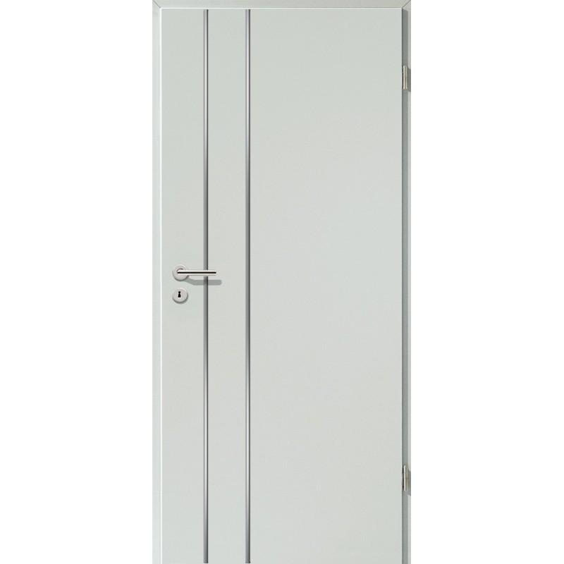 Lisenen-Türen - Hellgrau-3502