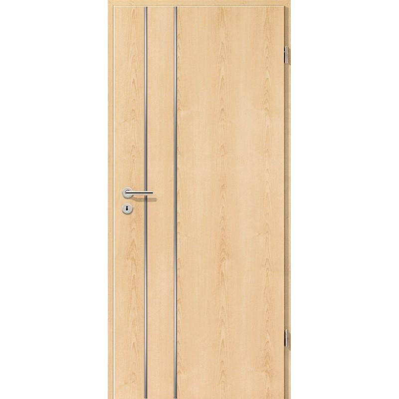 Lisenen-Türen - Ahorn Natur-3502