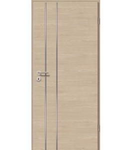 Lisenen-Türen - Bernsteineiche Cross-3502