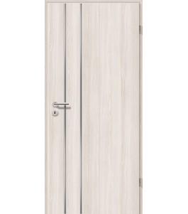Lisenen-Türen - Lärche Weiß-3502
