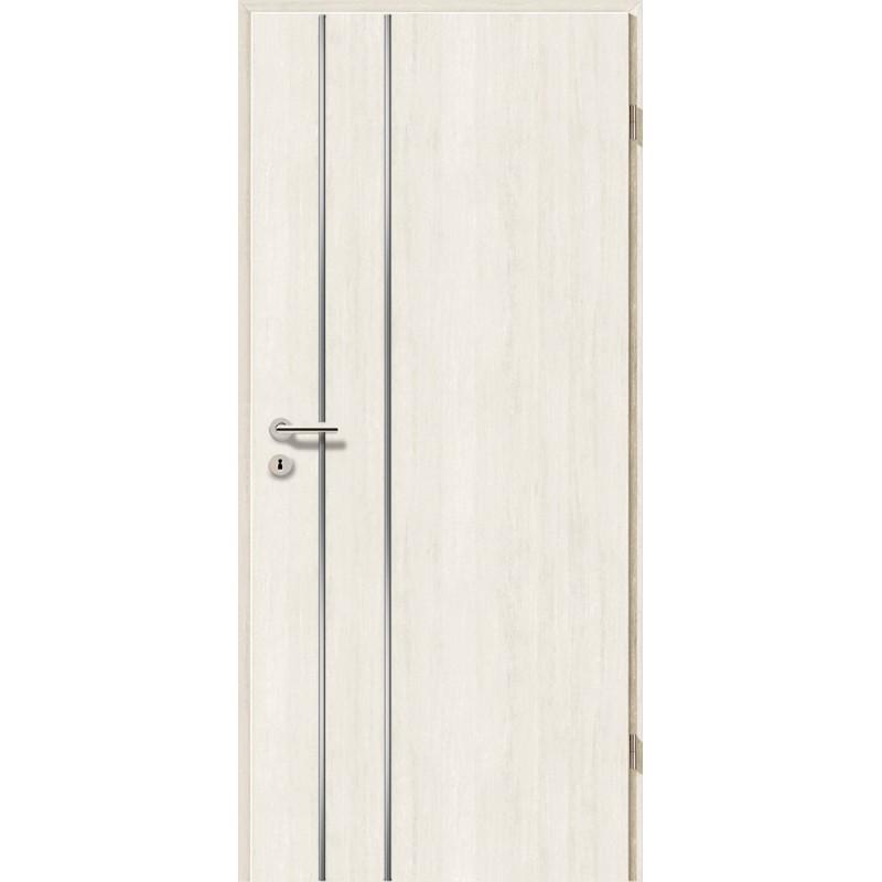 Lisenen-Türen - Pinie Weiß-3502