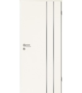 Lisenen-Türen - Uni Weiß-3503