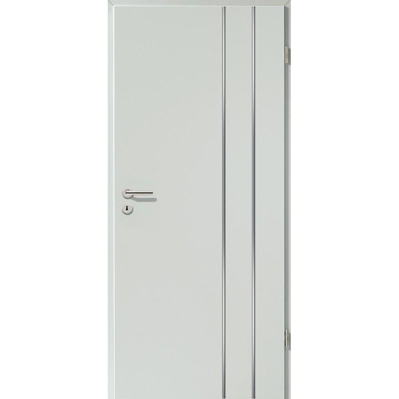 Lisenen-Türen - Hellgrau-3503