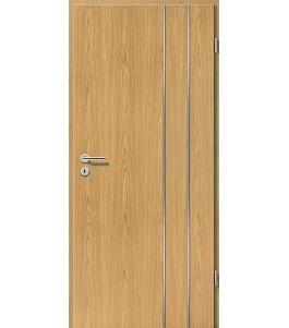 Lisenen-Türen - Eiche Hell-3503