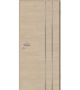 Lisenen-Türen - Bernsteineiche Cross-3503