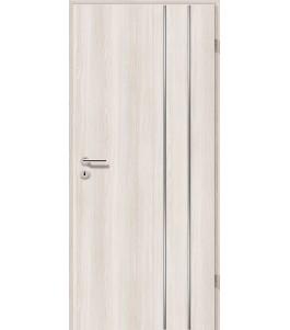 Lisenen-Türen - Lärche Weiß-3503