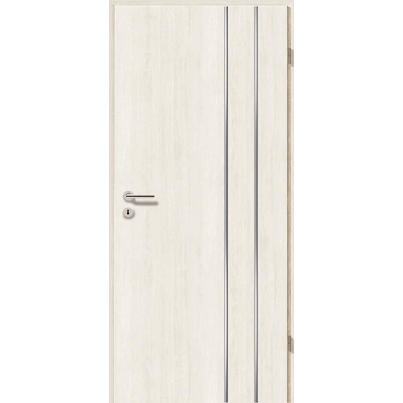 Lisenen-Türen - Pinie Weiß-3503