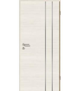 Lisenen-Türen - Pinie Weiß Cross-3503