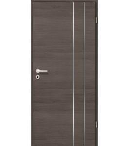 Lisenen-Türen - Pinie Grau Cross-3503