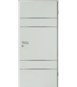 Lisenen-Türen - Hellgrau-3504