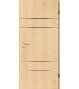 Lisenen-Türen - Ahorn Natur-3504