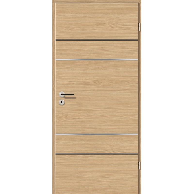 Lisenen-Türen - Schwarzeiche Cross-3504