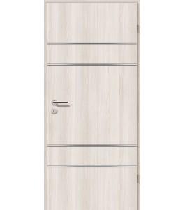 Lisenen-Türen - Lärche Weiß-3504